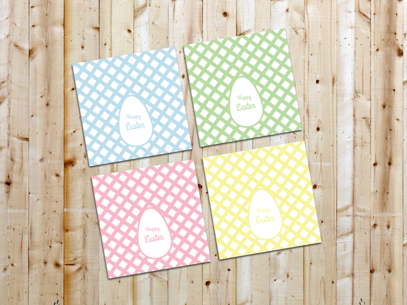 Classy Easter Cards Set Of 4