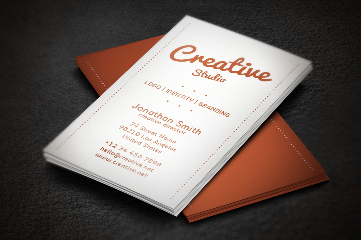 Minimalistic business card business card templates on for Minimalistic business cards