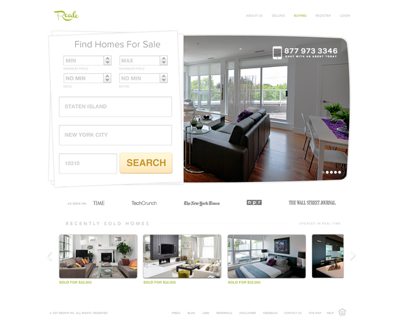 The Best Real Estate Psd Template