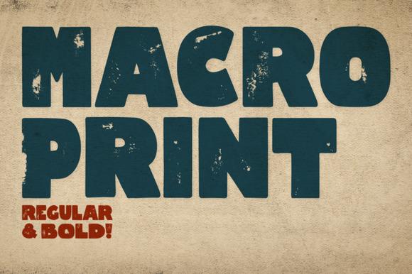 Macro Print