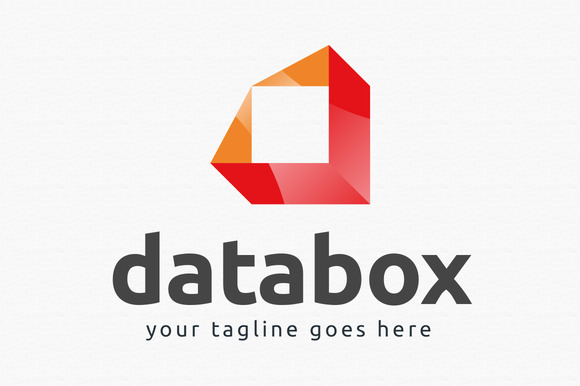 Data Box Logo Template