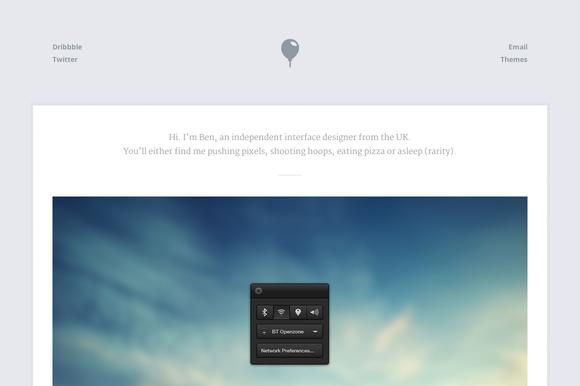 Breeze - Portfolio (HTML/CSS/PSD) - Websites - 1