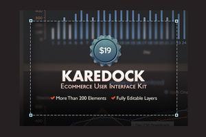 Karedock Pro User Interface