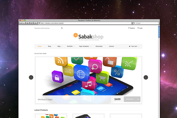 Sabak ECommerce Responsive Theme