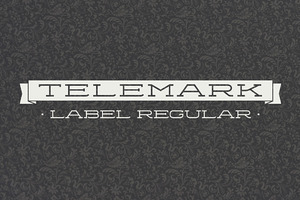 Telemark Label Regular