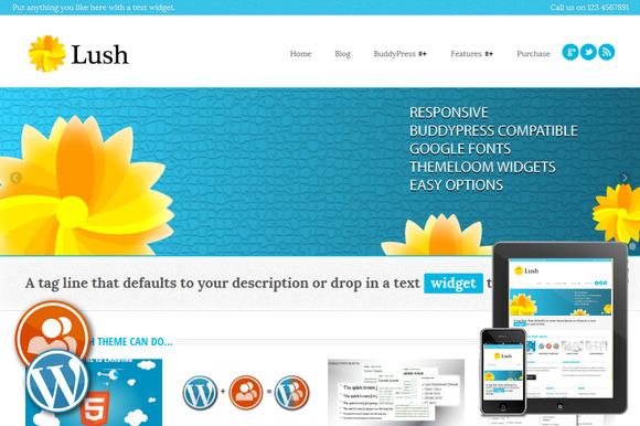 Lush Responsive WordPress Theme