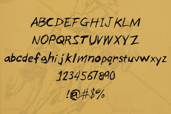 """免费字体 Zack's Scratch丨""""反""""斗限免"""