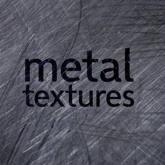 25 Texture Bundle Of Metal