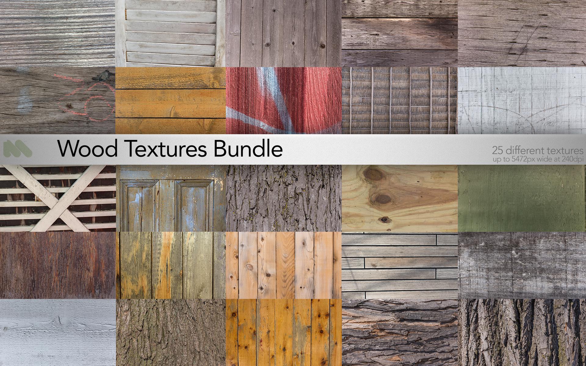 25 Texture Bundle of Wood ~ Graphics on Creative Market