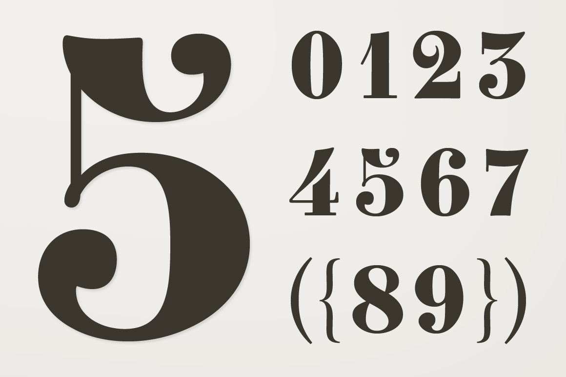 Cool Number Fonts For Tattoos | Gallery