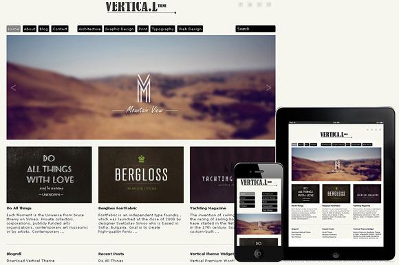 Vertical Responsive WordPress Theme ~ WordPress Themes  Free Download