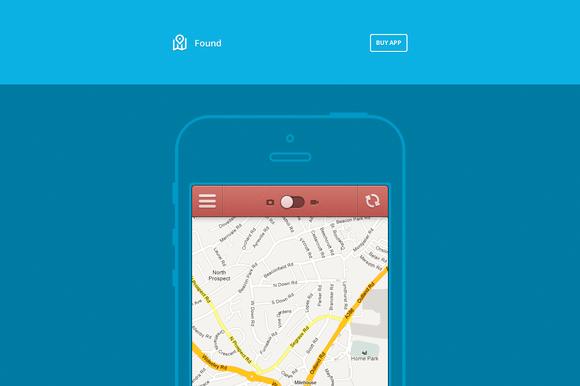 Found App Website