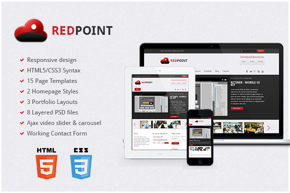 RedPoint Responsive HTML Template