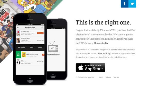 Corner App Landing Page Template