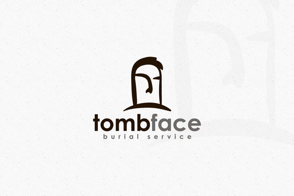 Tomb Face Logo