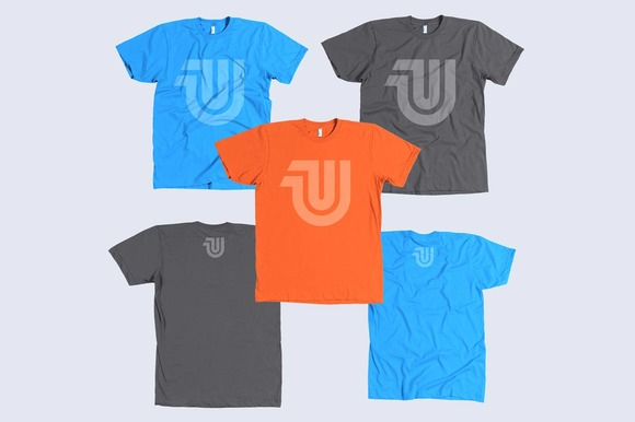 100% Cotton T-Shirt Mockup Templates