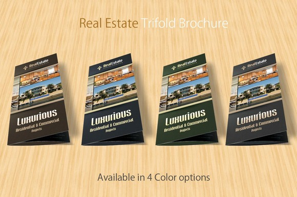 real estate prospectus template - real estate trifold brochure brochure templates on