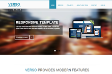 VERSO onepager Bootstrap template