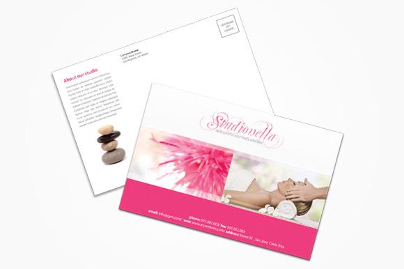 Beauty Spa Postcard