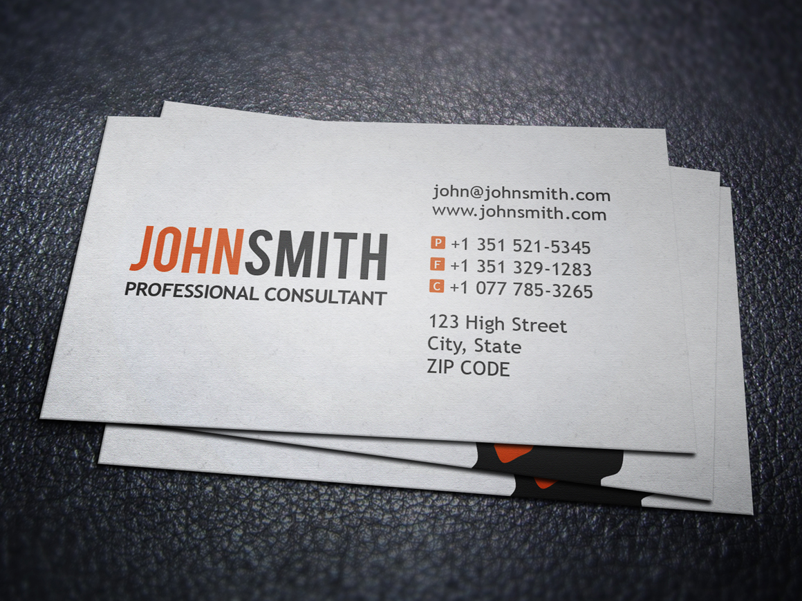 Professional Executive Business Card Business Card