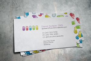 Five Capsules Business Card
