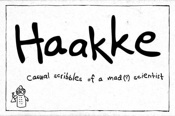 Haakke ~ Sans Serif Fonts on Creative Market