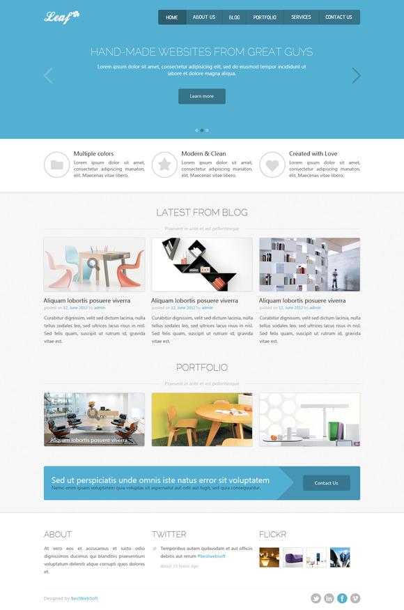 Leaf Creative HTML5 Template