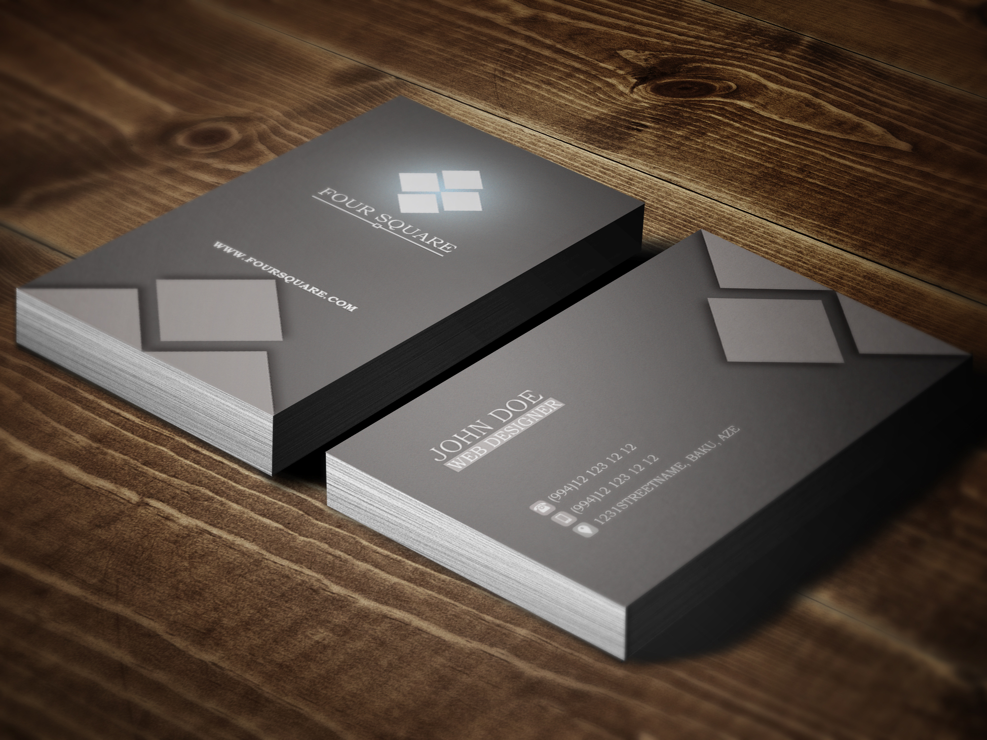 ELEGANT BUSINESS CARDS Free Job Cv Example