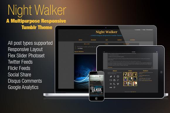 Night Walker Tumblr 35% Discount