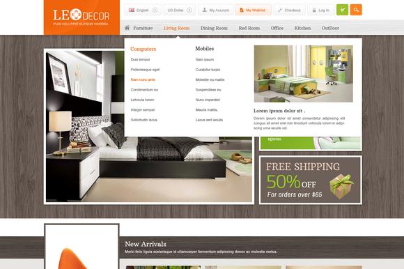 Leo Decor Prestashop Theme ~ Bootstrap Themes  Free Download