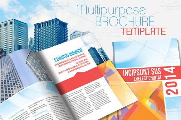Brochure Indesign Template | Best Template Design