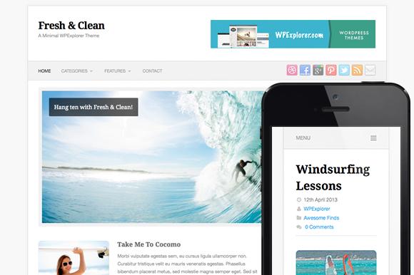 Fresh Clean WordPress Theme
