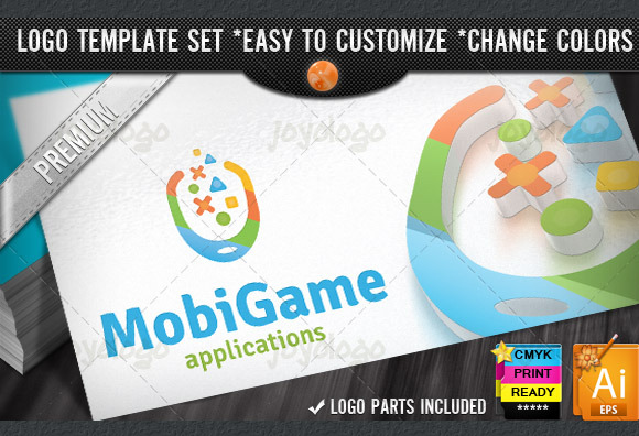 Apps Play Online Mobile Game Logo