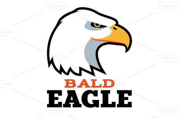 Bald Eagle Logo Template