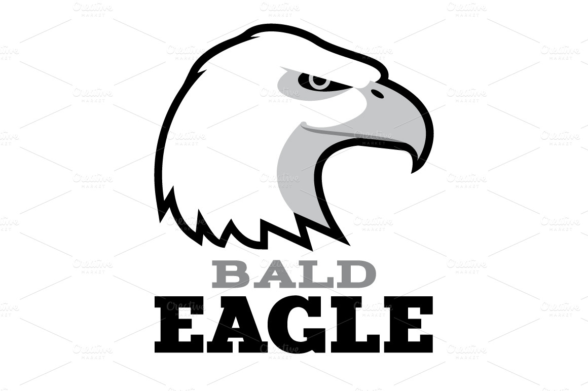 Bald Eagle Logo Template Logo Templates On Creative Market