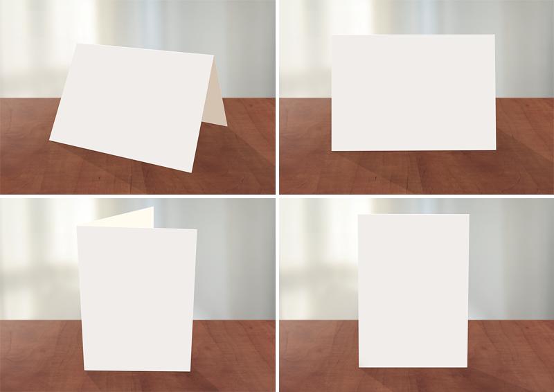 greeting card photoshop mockup card templates on