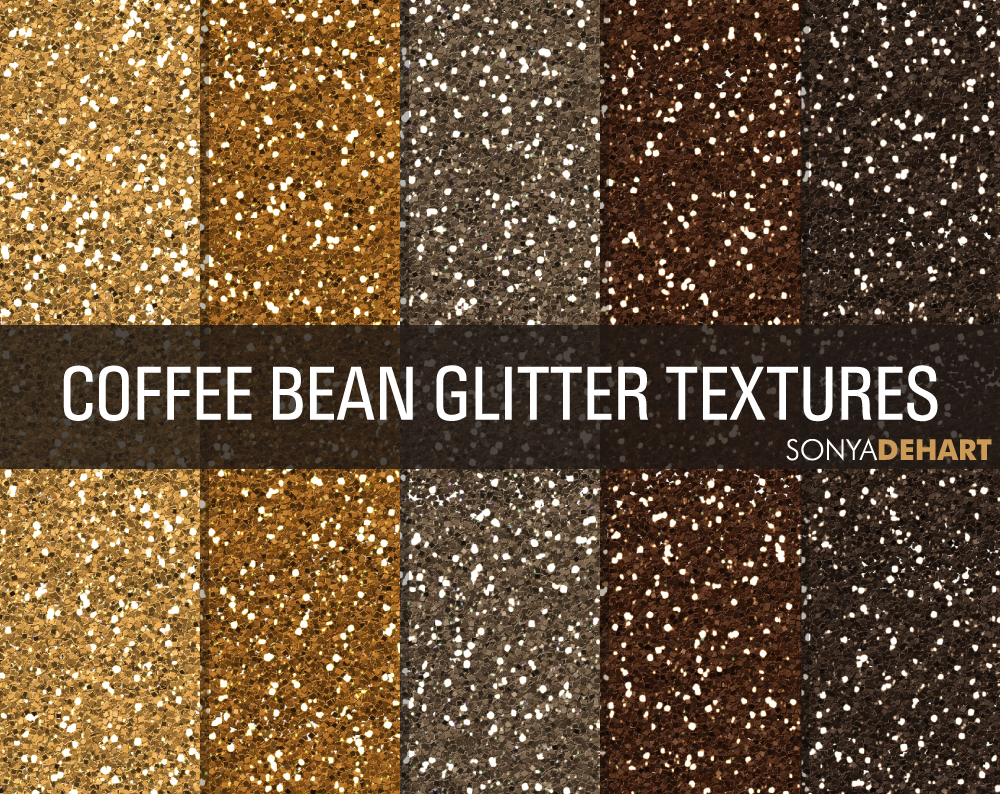 Coffee Bean Glitter Textures Textures On Creative Market