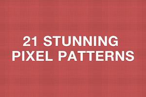 21 Stunning Pixel Patterns
