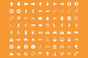 Transit - 80 Wayfinding Icons