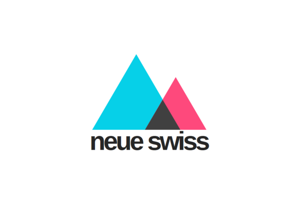 Neue Swiss Style PowerPoint Template