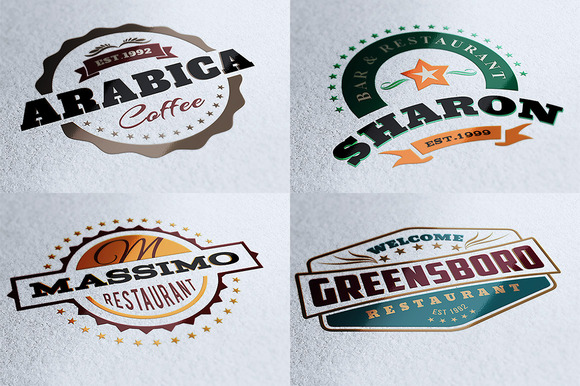 10 Retro Signs Or Banners