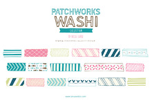 Patchworks Washi (Clipart)