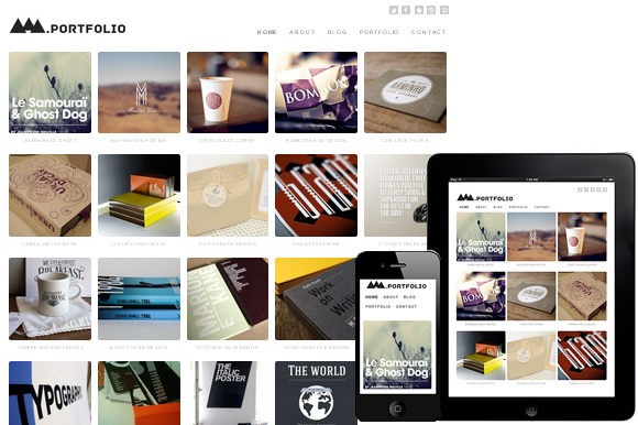 Modern Portfolio WordPress