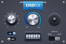Emby UI