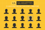 Lil Silhouettes Icon & Font-Graphicriver中文最全的素材分享平台
