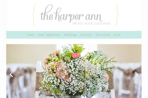 The Harper Ann- Responsive Wordpress