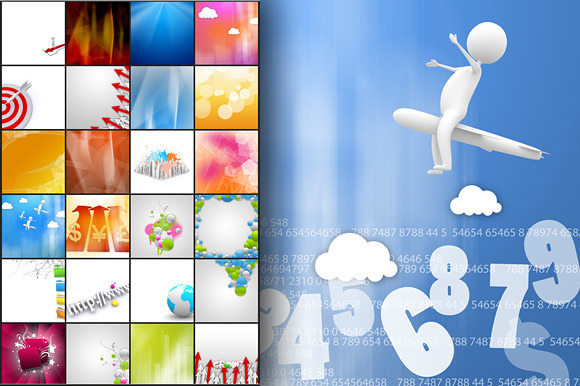 100 Business Backgrounds