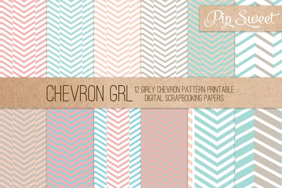 Chevron GRL 12 Pattern Set