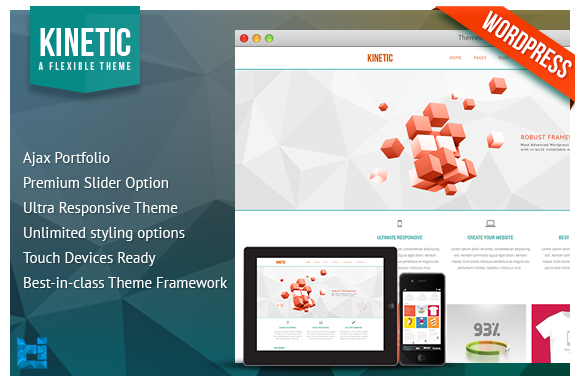 KINETIC Responsive Wordpress Theme