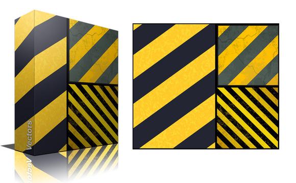 Hazard Lines Backgrounds Vector